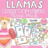 LLAMAS Editable Name Tags, Labels, Posters & Door Display