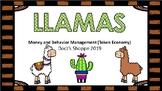 Llamas Classroom money and behavior management (Token economy)
