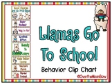Llamas Go to School | Behavior Clip Chart