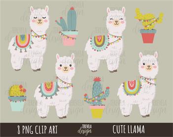 Llama Clipart Baby Llama - Alpaca Clipart - Png Download (#5445674) -  PinClipart