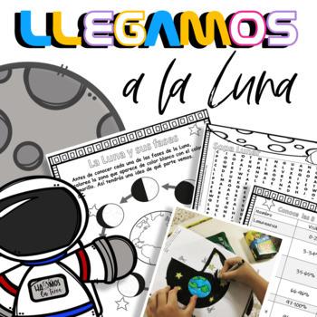 Llegamos  a la Luna - Las fases de la Luna