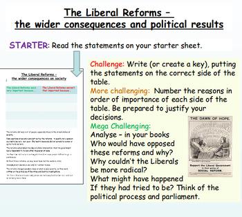 Lloyd George and The Liberals