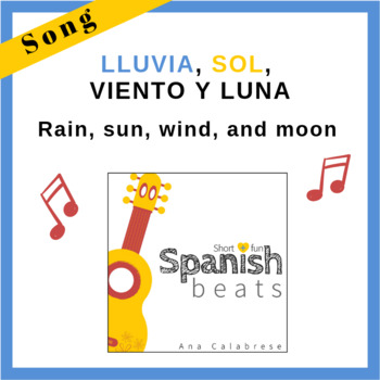 Song - Lluvia, sol, viento y luna (Rain, sun, wind, and moon)