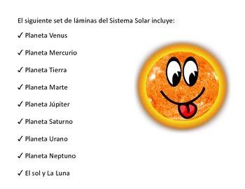 Láminas de los planetas del Sistema Solar (animados)
