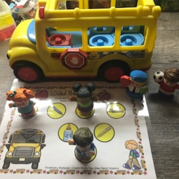 Load The Bus! A Toy Companion for Speech Therapy