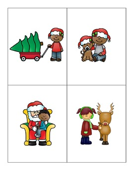 Load the Sleigh Listening Comprehension File Folder Game Bundle