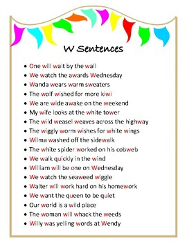 Loaded Sentences - speech therapy