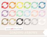 Loading Arrow Clipart; Recycle, Recycling, Circle Arrows