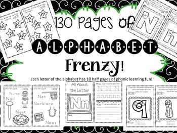 Loads of Letter Learning Fun!
