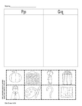 Loads of Letter Sorts - Printable Beginning Letter Sorts from A to Z