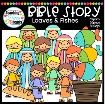 Loaves & Fishes Clipart