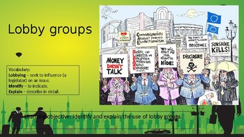 Lobby groups in Australia