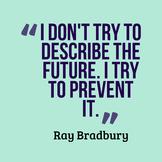 Lobbying to Congress for Ray Bradbury's characters