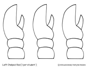 Lobster Craft (Label It!)