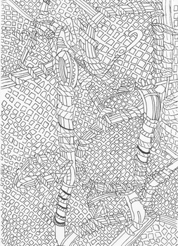 Lobster Pot Colouring Sheet