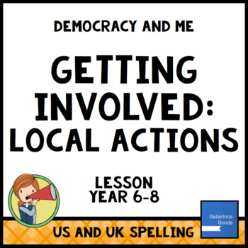 Local Actions (Getting Involved Lesson Six)