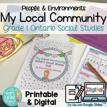 Local Community & Community Helpers: Grade 1 Ontario Social Studies
