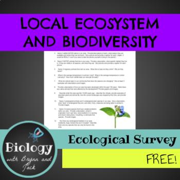 Local Ecosystem and Biodiversity Survey