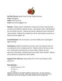 Local Farming & Apples Unit