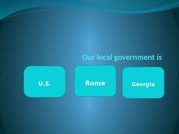 Local Government Game Powerpoint