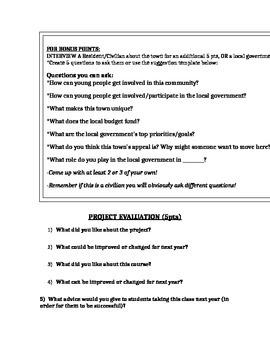 Local Government Mini-Project