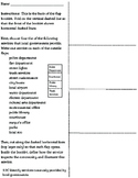 Local Government Services Flap Booklet (3rd Grade Texas Social Studies)