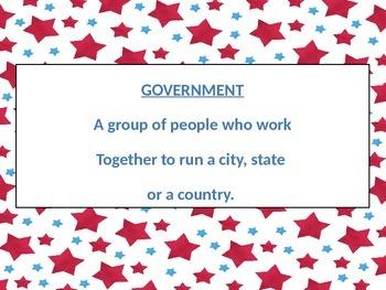 Local Government Vocabulary