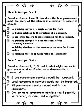Government of Louisiana DBQ ---- Document Based Questioning