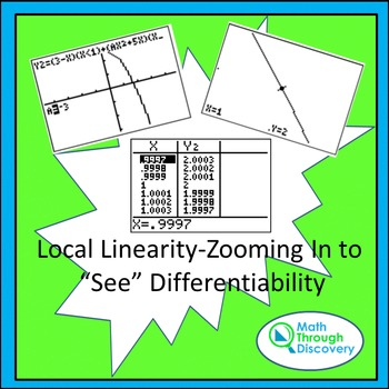 """Local Linearity-Zooming In to """"See"""" Differentiability"""