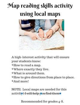 Local Map Skills Activity