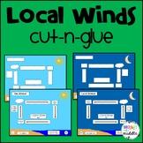 Local Winds Cut-n-Glue: Sea Breeze and Land Breeze: 7.E.1.5