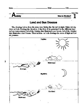 Local Winds Worksheet