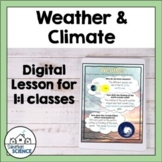 Local and Global Weather Patterns for Distance Learning