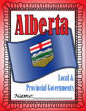 Local and Provincial Governments Lapbook