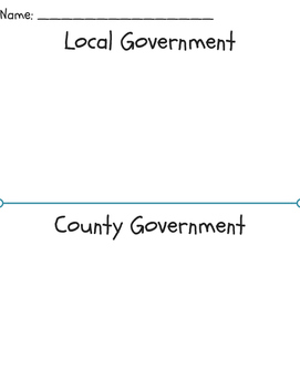 Local and State Government Worksheet