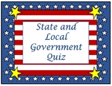 Local and Texas State Government Quiz