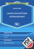 Local council law enforcement