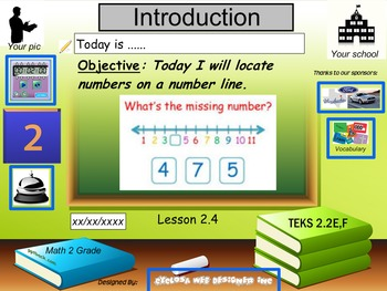 Locate numbers on a number line