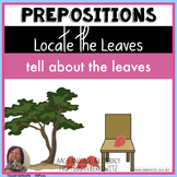 Prepositions for Fall Speech Therapy and Special Education