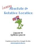 Locating Absolute and Relative Location
