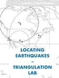 Locating Earthquake Epicenter Lab - Triangulation