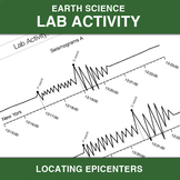 Locating Epicenters Lab Activity - Earthquakes