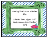 Locating Fractions on a Number Line - Review Game