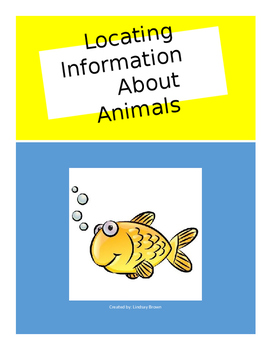 Locating Information About Animals