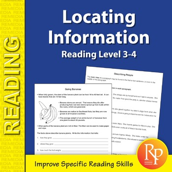 Locating Information: Specific Reading Skills Activities