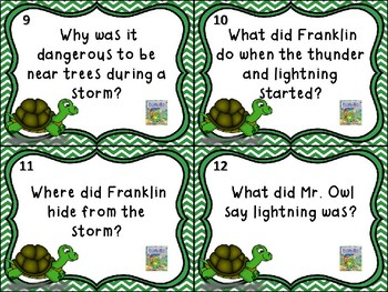 Locating Information with Franklin - Franklin and The Thunderstorm