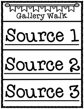 Locating Louisiana and Places and Spaces Within the State Gallery Walk