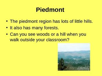 Locating My Georgia Regions