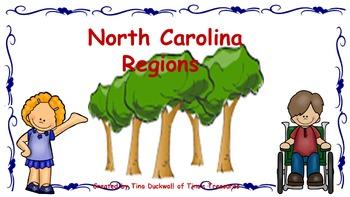 Locating Places in North Carolina