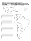 Locating Spanish-speaking countries and saying where you are from